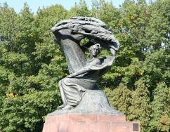 Fryderyk Chopin in the Royal Łazienki Park